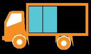 Truck Icon Half Full