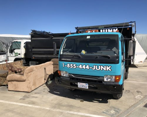Bye Junk couch removal in Danville
